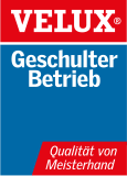 VELUX Logo Geschulter Betrieb